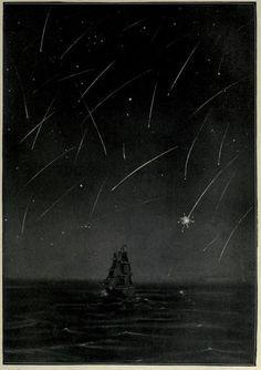 """""""Shower of meteors in the Mediterranean on November 27th, 1885.""""Astronomy for all. 1911."""