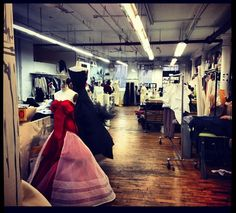 My favorite #sunday time and place. The wonderful and magical #zacposen #atelier