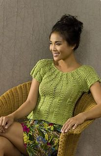 Equinox Top -- free knitting pattern by Kristin Omdahl