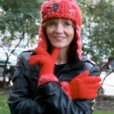 """Gratis strikkeoppskrift på """"Nikitalue"""" og fingervotter Winter Hats, Knitting, Happy, Fashion, Threading, Moda, Tricot, Fashion Styles, Stricken"""