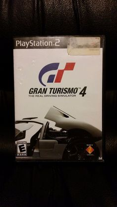 Gran Turismo 4 Black Label (Sony PlayStation 2, 2006) COMPLETE WITH MANUAL