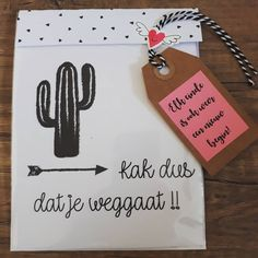 Cactus Quotes, Diy Presents, Jar Gifts, Dog Tag Necklace, Doodles, Gift Wrapping, Envelope, Congratulations, Cards