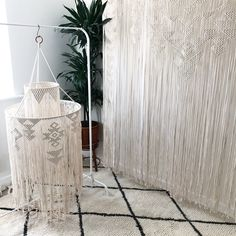 Macrame Chandelier by Macrame Adventure. I made this custom piece for a wedding! Custom orders are welcome through my Etsy shop Macrame Adventure