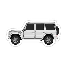 Jaguar Xk, Jaguar E Type, G Wagon, Jaguar Accessories, Volkswagen Routan, Mercedes Benz G, New Sticker, Sport Cars, Trucks