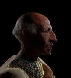 Ancient Egypt, Great Britain, Facial, African, Statue, Artwork, Facial Treatment, Work Of Art, Facial Care