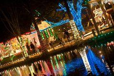 The Best Neighborhoods In Acadiana To See Christmas Lights