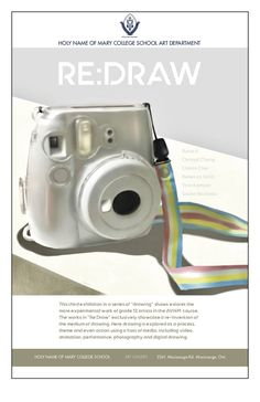 """""""Re:Draw"""" exhibition on now! @HNMCS Explore the re-invention of 'drawing' as a process, theme and action using video, animation, performance, digital photography and design."""
