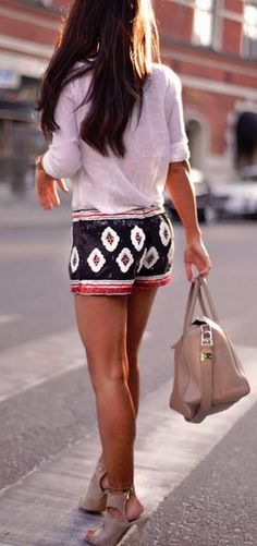 Super cute shorts!! Find all your favorite brands for looks like this at Studentrate!