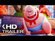 CAPTAIN UNDERPANTS: The First Epic Movie Trailer (2017) - YouTube