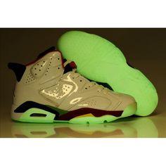 reputable site 7db41 5c180 Jordan 6 Glow In Dark Olympic White Varsity Red Green Blue , Price   79.46  - Jordan Shoes,Air Jordan,Air Jordan Shoes