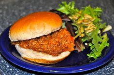 Easy Vegan Sloppy Joe #MeatlessMonday