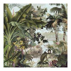 Art Tropical, Tropical Wall Decor, Forest Illustration, Botanical Illustration, Udaipur, Jungle Art, Vintage Botanical Prints, Cute Patterns Wallpaper, Painting Inspiration