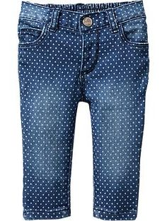 Polka-Dot Jeans for Baby | Old Navy