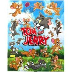 Tom and Jerry - A4 sheet of stickers deea439877f1