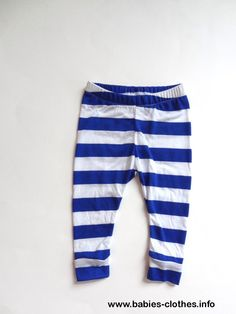 Blue & White Stripe Leggings >> SIZE 12-18M << Hipster Baby Clothes, Unisex Baby Clothes, Baby Leggings, Baby Fashion, Trendy Baby - http://www.babies-clothes.info/blue-size-12-18m-hipster-baby-clothes-unisex-baby-clothes-baby-leggings-baby-fashion-trendy-baby.html