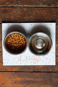Squirrelly Minds » Pet Food Mat DIY