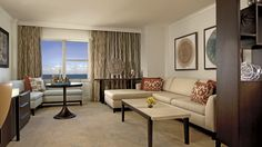 Oceanfront suites provide the ultimate in luxury accommodations and views.