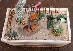 mini cowboy garden