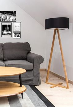 Lampadar Tales Natural / Black #livingroomdecor #interiordesign #inspiration #lamp #homedecor #nordicstyle #modern Nordic Style, Tripod Lamp, Living Room Decor, Interior Design, Modern, Inspiration, Black, Home Decor, Natural