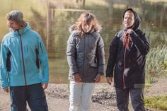 O'Neill, left to right: Jeremy Jones jacket & Contest pants | Feline jacket & Star pants | Seb Toots jacket & Stereo pants