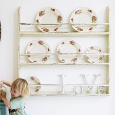 Rustic Wooden Wall Plate Rack Review Kaboodle