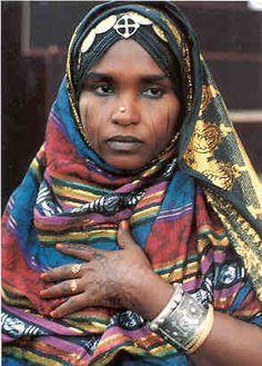 Africa | Portrait of a Nara woman - Eritrea | © Elsa Gebre