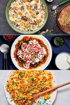 Festive recipes for vegans and meat-lovers alike this Eid ul Adha | With a Lamb and Apricot Pilaf, Vegetable Biryani and Eggplant Borani on the menu, there's a dish for all. Meat Lovers, Biryani, Food Festival, Vegans, Eid, Eggplant, Lamb, Festive, Vegetarian Recipes