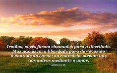 Gálatas 5:13