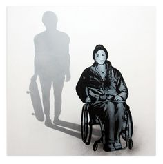 Iran Artists-Icy And Sot Wheel chair & skate boarder