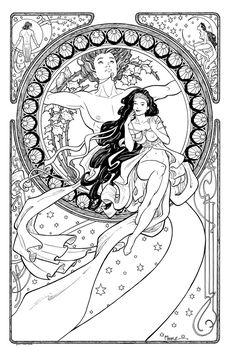 Terry Moore: Art Nouveau