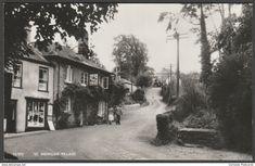 St Mawgan Village, Mawgan in Pydar, Cornwall, c.1950s - Overland RP Postcard