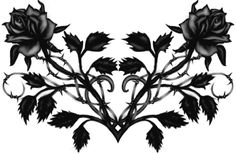 Gothic Tribal Rose Lower Back Tattoo Gothic Tribal Rose Tattoo LB Lower Back Tattoo Designs, Heart Tattoo Designs, Lower Back Tattoos, Girl Back Tattoos, Back Tattoo Women, Tattoos For Women, Trendy Tattoos, Tribal Tattoos, Polynesian Tattoos