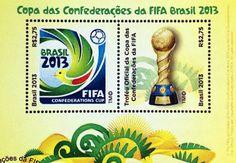Brasil - Bloco lançado para a realização da copa do mundo de 2014 no Brasil
