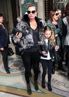Kate Moss maart 2013 dochter Lila Grace