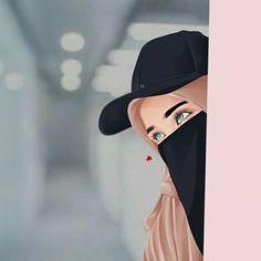 Hijabi Girl, Girl Hijab, Lovely Girl Image, Beautiful Girl Photo, Islamic Girl Pic, Hijab Hipster, Hijab Drawing, Hijab Style Tutorial, Islamic Cartoon