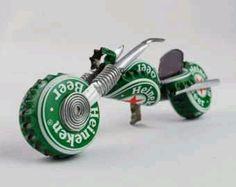 Beer Cap Motorcycle