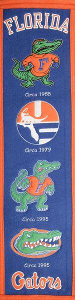 History of the Florida Gator Logo.