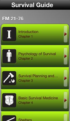 Survival Guide App