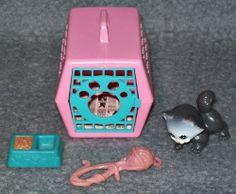 Meine kleine Tierwelt - Katze Kitty My littlest Pet Shop 80er 90er Jahre Vintage
