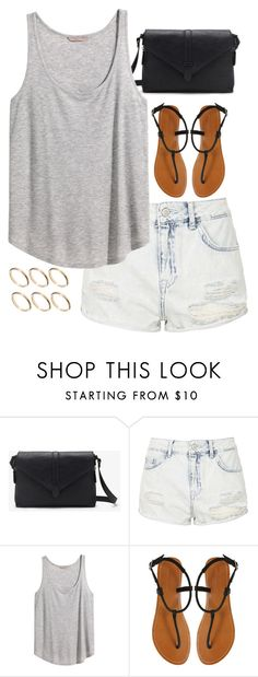 Summer by keisha-xo on Polyvore featuring H&M, Topshop, London Rebel, Forever 21 and ASOS