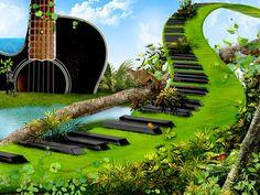 #pianosoftware Music and Nature