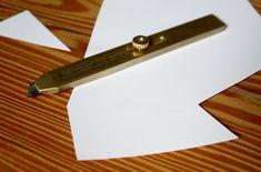 Brass Utility Knife   Jennifer Tran