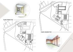 Portafolio Maria Camila Arango on Behance Architecture Portfolio Layout, Architecture Presentation Board, Revit Architecture, Autocad, Adobe, Behance, Lobbies, Design, Cob Loaf