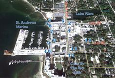 Historic Walking Tour - Historic St. Andrews Bay County, St Andrews, Panama City Panama, Walking Tour, Maps, City Photo, Florida, Tours, Beach