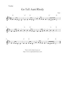 resident evil go tell aunt rhody piano sheet music pdf