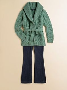Ralph Lauren - Girl's Cashmere Cardigan