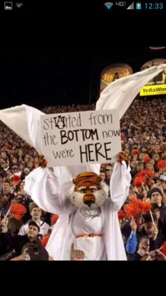 Biggest turn-around season in history, 2013. War Eagle! RollTideWarEagle.com great sports stories, audio podcast and FREE on line tutorial of college football rules. #CollegeFootball #Auburn