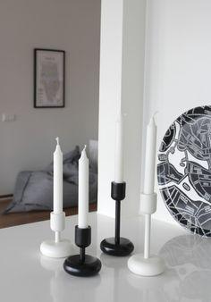 nappula iittala - Google-haku Nordic Home, Scandinavian Home, Marimekko, White Houses, Home Interior, Home Deco, Modern, Candle Holders, Candles