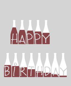 Feliz cumpleaños divertida tarjeta de felicitación por EinBierBitte
