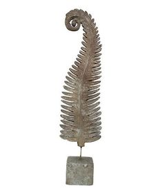 Another great find on #zulily! 33'' Fern Sculpture #zulilyfinds